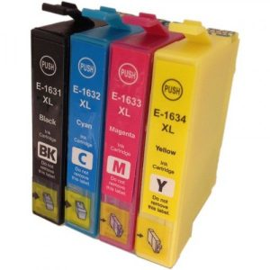 Epson 16 Series (Compatible) Ink Cartridges - BK, C, M, Y