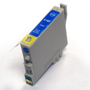 Epson T0482 Compatible Ink Cartridge - Cyan