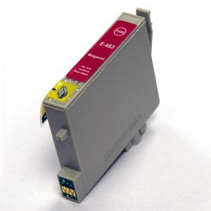 Epson T0483 Compatible Ink Cartridge - Magenta