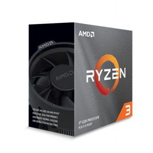 AMD Ryzen 3 3300X with Wraith Stealth Cooler 3.8Ghz Quad Core AM4 Overclockable Processor