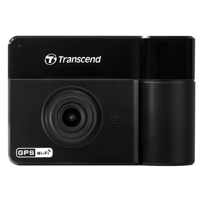 Transcend DrivePro 550 Dual Lens 64GB Dashcam with Sony Sensor / GPS /  Wi-Fi and Infrared