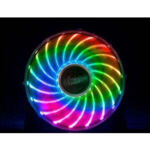 Akasa Vegas X7 120mm 1200RPM Ultra Quiet RGB LED Fan