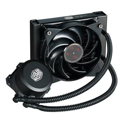 Cooler Master MasterLiquid Lite 120 Universal Socket 120mm PWM 2000RPM Fan Black AiO Liquid CPU Cooler