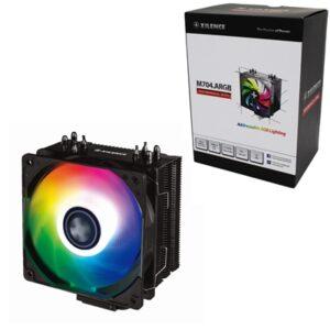 Xilence M704.ARGB Universal Socket 120mm PWM 1500RPM Addressable RGB LED Fan CPU Cooler