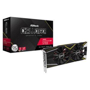ASRock AMD Radeon RX 5700 8GB DDR6 Single Fan Graphics Card