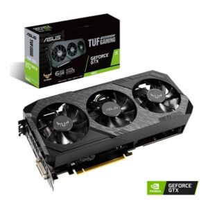 ASUS TUF Gaming X3 GeForce GTX 1660 6GB GDDR5 Triple Fan Graphics Card